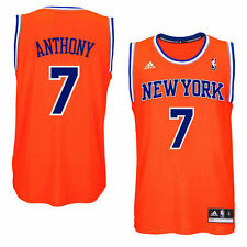 adidas Carmelo Anthony New York Knicks Orange Replica Jersey