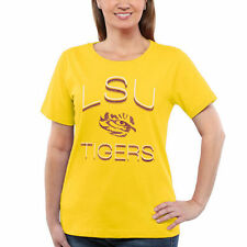 LSU Tigers Women's Gold Fade To Victory T-Shirt