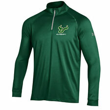 Under Armour South Florida Bulls Hunter Green 1/4 Zip Performance Top