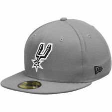 New Era San Antonio Spurs Gray/Black 59FIFTY Fitted Hat