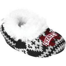 Mississippi State Bulldogs Infant Aztec Knit Bootie Slippers