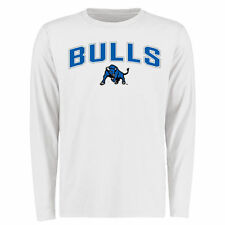 Buffalo Bulls White Proud Mascot Long Sleeve T-Shirt