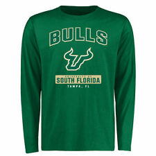 South Florida Bulls Green Campus Icon Long Sleeve T-Shirt