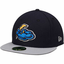 New Era Trenton Thunder Navy/Gray Authentic Road 59FIFTY Fitted Hat