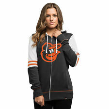 Majestic Baltimore Orioles Women's Black Big Time Attitude Full-Zip Hoodie
