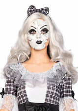 Porcelain Doll Mask Replica Plastic Scary Doll Mask Vicxtorian Doll Mask 2757