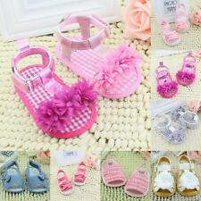 Summer Baby Infant Kids Girl Shoes Soft Sole Crib Toddler Princess Sandals Shoes