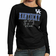 Kentucky Wildcats Women's Shinedown Spirit Long Sleeve T-Shirt - Black
