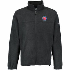 Columbia Chicago Cubs Charcoal Flanker Full-Zip Jacket