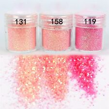 Nail Art Glitter Dust 3 color Nail Decoration Cosmetic Make Up Tool US