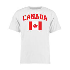 Canada Youth White Flag T-Shirt