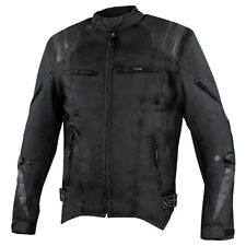 Xelement Swift Men's Black Tri-Tex Armored Motorcycle Jacket XS3220-2B