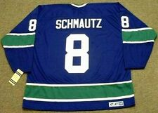 BOBBY SCHMAUTZ Vancouver Canucks 1973 CCM Vintage Throwback NHL Hockey Jersey