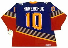DALE HAWERCHUK St. Louis Blues 1996 CCM Vintage Throwback Away NHL Hockey Jersey