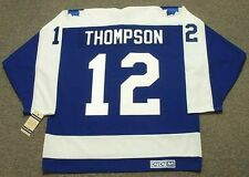 ERROL THOMPSON Toronto Maple Leafs 1974 CCM Vintage Throwback NHL Jersey