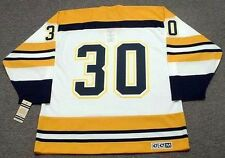 GERRY CHEEVERS Boston Bruins 1972 CCM Vintage Throwback Home NHL Hockey Jersey