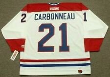 GUY CARBONNEAU Montreal Canadiens 1993 CCM Throwback Home NHL Hockey Jersey