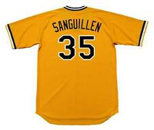 MANNY SANGUILLEN Pittsburgh Pirates 1979 Majestic Cooperstown Home Jersey