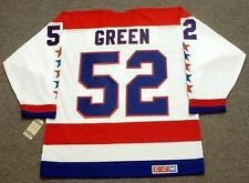 MIKE GREEN Washington Capitals 1980's CCM Vintage Home NHL Hockey Jersey