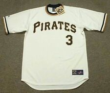 RICHIE HEBNER Pittsburgh Pirates 1974 Majestic Cooperstown Home Baseball Jersey