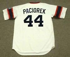 TOM PACIOREK Chicago White Sox 1985 Majestic Cooperstown Home Baseball Jersey