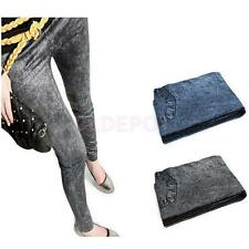 Ladies Sexy Womens Jegging Jeans Skinny Leg Stretchy Leggings Trousers Pants Hot