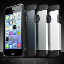 Hybrid Shockproof Armor Silicone Rubber Hard Back Case Cover For Apple iPhone
