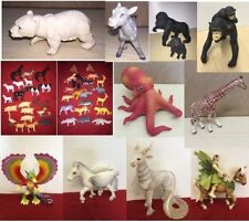Various Schleich E.L.C AAA Toy Model Animal Insects Figures PVC Plastic ELC