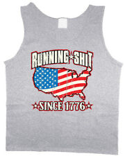 Men's tank top 'Merica funny USA pride American flag sleeveless shirt
