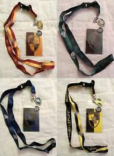 Harry Potter Lanyard New Choose Your House - ID Badge / Ticket Holder