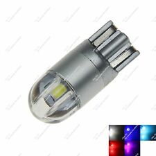 1X T10 168 W5W 3030 SMD 2 Car LED  Interior Wedge Side Light License Plate Bulb