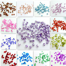 New Colors 200pcs bicone crystal glass 5301# 3mm  loose spacer Beads