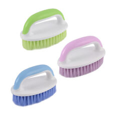 Plastic Handle Clothes Shoes Stain Multifunctional Cleaning Washing Scrub Brush