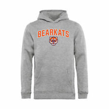 Sam Houston State Bearkats Youth Ash Proud Mascot Pullover Hoodie
