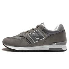 New Balance ML565AAD D Ripstop Grey White Suede Mens Running Trainers ML565AADD