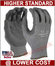 120 Pairs Advance Foam Nitrile Coating Nylon Lycra Glove Gloves Gray S,M,L,XL
