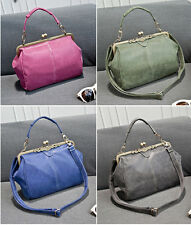 New Vintage Style Womens Shoulder Bag Faux Leather Handbag Messenger Totes Hobo