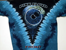"""PINK FLOYD """"PULSE"""" 2-SIDED TIE DYE T-SHIRT NEW"""