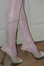 2 Pair Combo PEAVEY WHITE High Gloss Tights PICK COLOR PANTYHOSE A B C D Q
