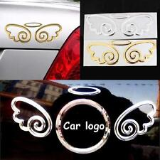 Cute 3D Guardian Angel Wings Car Emblem Decal Sticker Automobile Logo Decal
