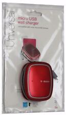 Original OEM T-Mobile Galaxy S3 S4 S6 Note 4 Wall/Home Travel USB Charger - Red