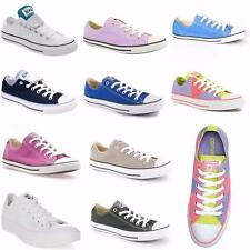 Mens New Ladies Boys Girls Junior All Star Converse Trainers Canvas Shoes Sizes