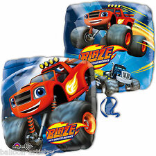 "18"" Blaze & The Monster Machines Children's Party Square Foil Balloon"