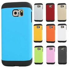 New 2 in 1 TPU+PC Armor Hybrid Hard Rugged Case Cover Skin for Samsung Galaxy S6
