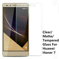 Clear / Matte / Tempered Glass Screen Protector Guard Film For Huawei Honor 7
