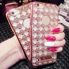 New Crystal Bling TPU Soft Gel Case Back Cover Skin For Apple Phone 6s 6 Plus