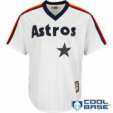 Majestic Houston Astros White Cooperstown Cool Base Team Jersey