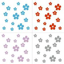 FLOWERS Daisy 60pcs Decal Removable Window Door Wall Sticker Home Decor Art