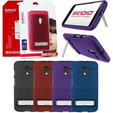 Seidio Surface Hard Shell Case Cover Skin w/ Metal Kickstand for Motorola Moto X