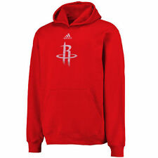 adidas Houston Rockets Youth Red Primary Logo Pullover Hoodie
